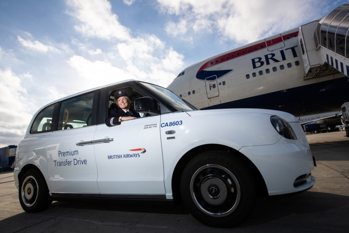 British Airways introduces electric cab service at Heathrow