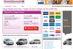 Carrentals.co.uk Launches New Price Comparator Site for People Carriers