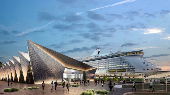 Plans unveiled for new Dubai Cruise Terminal next to Palm Jumeirah