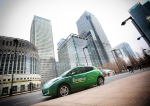 Europcar welcomes first Go Ultra Low cities in UK