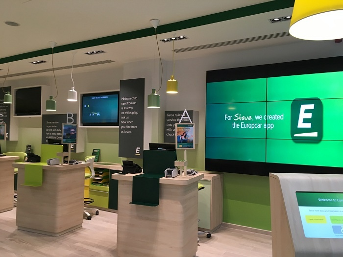 Europcar unveils new flagship station in Brussels