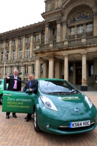 Europcar brings electric vehicles to UK market