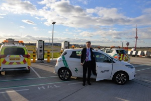 Heathrow welcomes latest electric car milestone