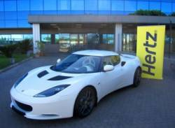 Hertz to offer Lotus Evora in Europe