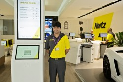 Hertz rolls out redesigned locations around the world