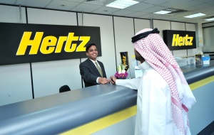 Hertz launches Arabic car rental website