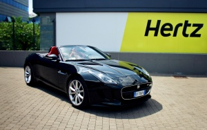 Jaguar F-Type comes to Hertz Europe