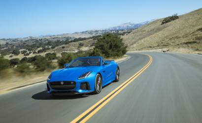 Jaguar F-Type SVR joins Enterprise Exotic Car Collection