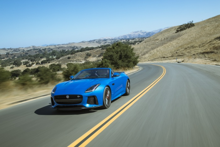 jaguar f type svr joins enterprise exotic car collection. Black Bedroom Furniture Sets. Home Design Ideas
