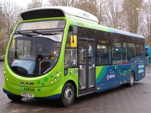 Milton Keynes welcomes first electric buses