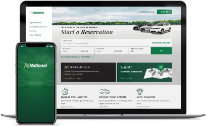 National Car Rental launches mobile-friendly website