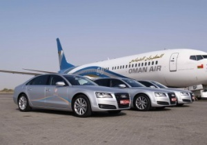 New Audi A8 limousine service for Oman Air customers