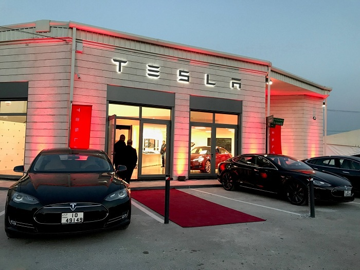 Tesla opens first Middle East location in Jordan