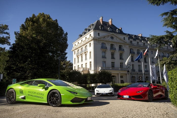 Lamborghini signs on for Waldorf Astoria Driving Experiences 2017