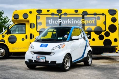 car2go black carsharing with the three pointed star news breaking travel news. Black Bedroom Furniture Sets. Home Design Ideas