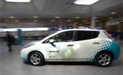 Nissan LEAF checks in at Gatwick