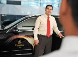 Emirates enhances its chauffeur-drive service in Dubai