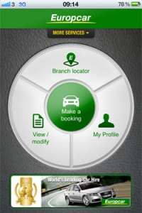 Europcar iPhone app delivers quality car hire on the go