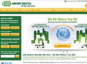 New app lets travelers book airport shuttles