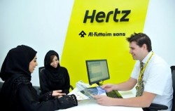 Hertz unveils re-designed San Diego car rental facility