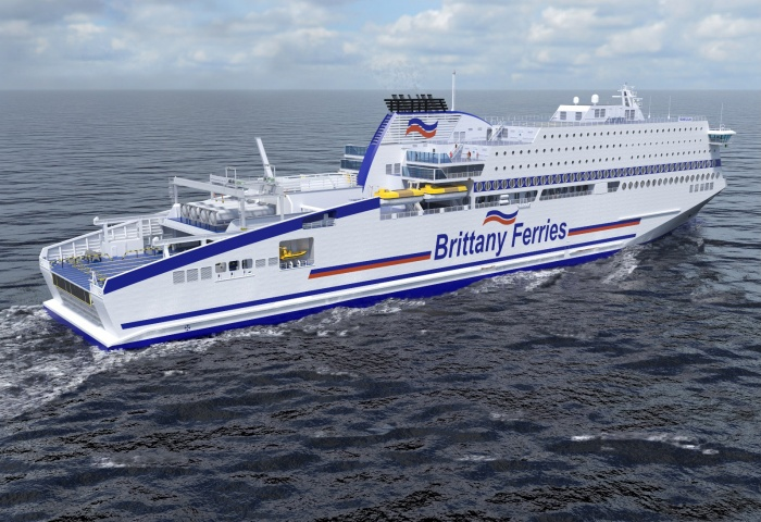 Brittany Ferries looks toward liquefied natural gas future as new ships arrive