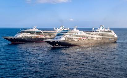 Azamara ships meet for first time in four years in Barcelona