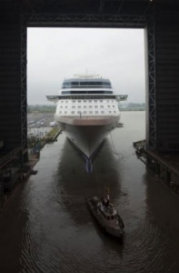 Germany gears up for largest ever cruise ship launch - Celebrity Silhouette