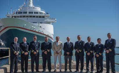 Fred. Olsen brings entire fleet together in Cádiz