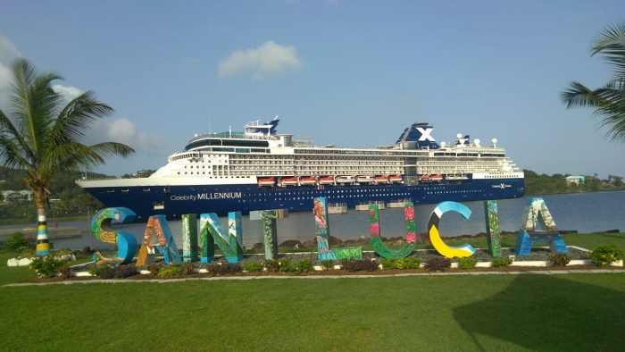 Cruise sector returns to Saint Lucia
