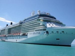 Celebrity Cruises' ship provides backdrop for S.S. Coachella