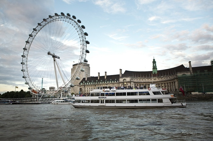 City Cruises welcomes Erasmus to Thames fleet