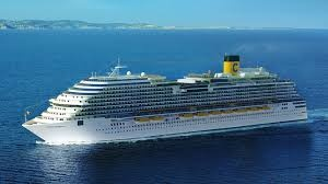 Technical launch of Costa Cruises' future flagship, Costa Diadema
