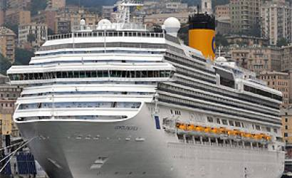 Costa Cruises' flagship Costa Favolosa arrives in Dubai for cruise season