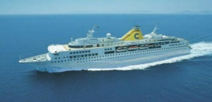 Costa Cruises captain awarded a high civil decoration for rescuing two fishermen