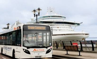 All aboard the Cruise Passenger Connector Bus