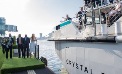 Crystal Debussy christened in Amsterdam