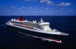 James Bond theme composer sails Queen Mary 2 on first transatlantic crossing