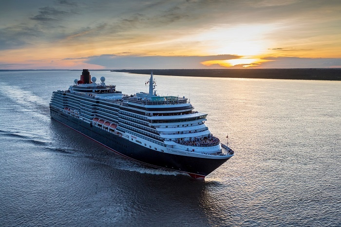 Cunard takes Queen Victoria into Amazon for first time