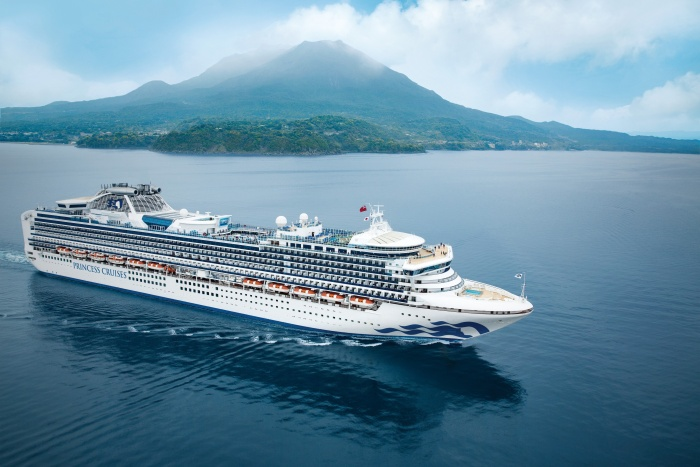 Diamond Princess completes two-week refit