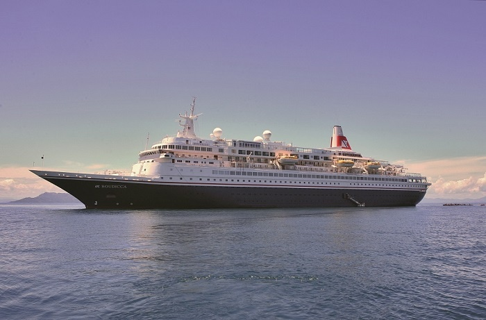 Fred. Olsen sees Boudicca depart for extensive refit