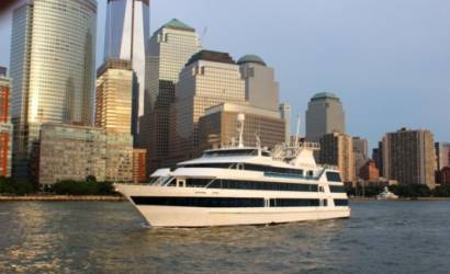 Ferry godmother Diana Taylor christens Hornblower Infinity