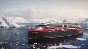 Hurtigruten christens two new expedition ships