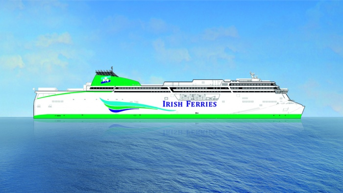 Irish Ferries places order for €165m cruise vessel