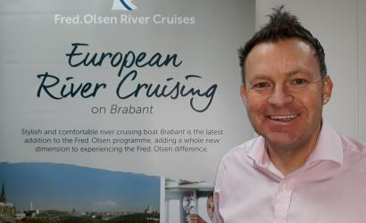 Norman to head up river cruise sales for Fred. Olsen
