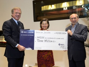 MSC Cruises donates €3 million to UNICEF