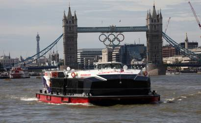 City Cruises new £4m vessel sets sail for London