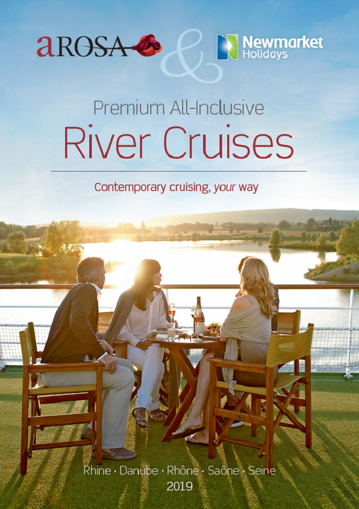 Newmarket Holidays partners with A-Rosa for summer 2019 cruise season