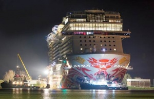 Norwegian Joy begins journey to homeport of Shanghai, China