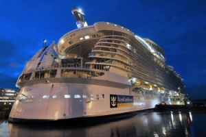 Royal Caribbean begins work on fourth Oasis class ship with steel cutting ceremony