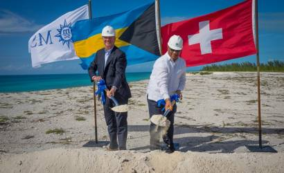 MSC Cruises breaks ground on Bahamas Marine Reserve